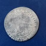 Орт 1621 г. Сигизмунд. Штемпельный блеск., фото №2