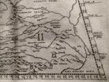 1573 ПТОЛЕМЕЙ Крым Гиперборея Колхида Сарматия Украина Россия (карта 31х21) СерияАнтик, фото №8