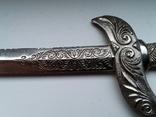 Нож для бумаги вставка герб Carcassonne эмаль, фото №12