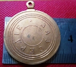 Медаль за ползно-Копія. позолота 999, не магнітна., фото №3