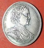 Копия медаль Капитану Симонтову 1709 г, фото №2