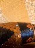 Сувенирный рог, папье-маше, 50см., фото №6