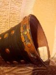 Сувенирный рог, папье-маше, 50см., фото №8