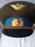 Фуражка офицерская ВВС СССР, фото №4