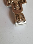 Крестик нательный. Серебро 925., фото №6