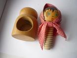 Деревянная лялька орехоколка, фото №6