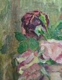 Розы у глиняном кувшине, фото №5