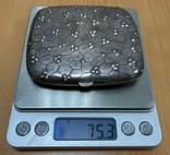 Серебряная пудреница 800 пробы, фото №8