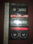 3 мини-видеокассеты, фото №2
