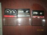 3 мини-видеокассеты, фото №4