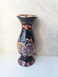 Деревянная расписная ваза с дарственной надписью, фото №5