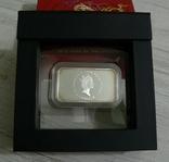 Год Дракона, Желтый Дракон - унция, серебро 999, 1 доллар - 2012 - Полный Комплект, фото №4