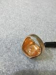 Кольцо с камнем без пробы, фото №4