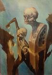 """""""Золотой ключик"""",В.Голыный,1989 г.,х/м., фото №3"""