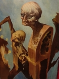 """""""Золотой ключик"""",В.Голыный,1989 г.,х/м., фото №4"""