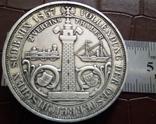 2 таляра/срібло 900/ 1857 Австр-Угорщина /відкриття залізної дороги в Трісті//копія/, фото №6