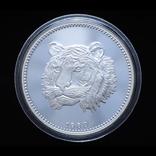 20000 Екуеле 1980 Центральный Банк / Тигр, Экваториальная Гвинея, фото №2