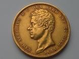 100 Лир. Сардиния 1834г., м.д. Турин, фото №2