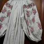 Сорочка старая с вышивкой.Полтавщина.Прошлый век., фото №9