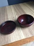 Бакелітова коробочка від крему, фото №6