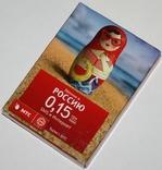 """Игральные карты """"МТС-Украина 2013"""" (полная колода,54 листа) Украина"""