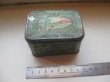 Коробок от чая,железо, фото №2