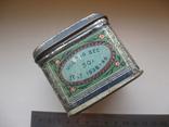 Коробок от чая,железо, фото №5