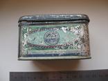 Коробок от чая,железо, фото №7