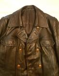 Кожаная куртка полицейского ФРГ 1980 г, фото №2