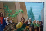 Вход Иисуса  в Иерусалим 70,5х52   1943г., фото №5
