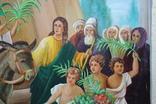 Вход Иисуса  в Иерусалим 70,5х52   1943г., фото №9