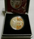 Макао, 20 патакас - Год Быка - серебро 999, унция, 2009 год -, фото №2