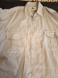 Рубашка мужская, короткий рукав  52- 54, фото №2