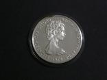 Британские Виргинские Острова 5 долларов 1979 - Белая Цапля., фото №4