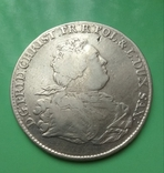 Талер 1763г. Фридрих Кристиан Саксонский, фото №3