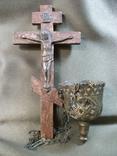 21Я19 Крест, распятие и лампада, фото №2