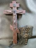 21Я19 Крест, распятие и лампада, фото №3