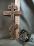 21Я19 Крест, распятие и лампада, фото №5