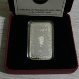 Канада, 15 - ЧЕРВОВЫЙ ВАЛЕТ. Деньги - Игральные карты - серебро,, фото №4