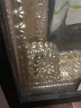 Большая икона на холсте Тайная вечеря 100х55 см, фото №11