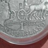 "1 доллар 2009 года Ниуэ ""Янтарный путь - Эльблонг"", фото №7"