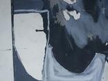 """Одесса,Е.Рахманин""""Абстрактная композиция"""", б.акрил, 58*76см в раме, 1996г, фото №3"""