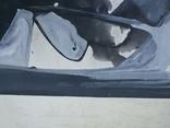 """Одесса,Е.Рахманин""""Абстрактная композиция"""", б.акрил, 58*76см в раме, 1996г, фото №5"""
