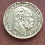 20 марок 1872 Пруссия, фото №2