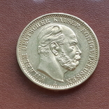 20 марок 1872 Пруссия, фото №3