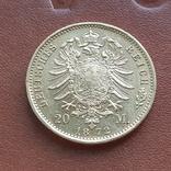 20 марок 1872 Пруссия, фото №7