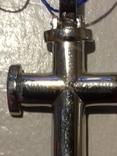 Крестик серебро с цирконием,925пр., фото №10