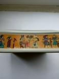 Пепельница Египет , фарфор , позолота , клеймо ., фото №4