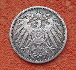 1 марка 1905 г. (G), Германия, серебро, фото №3
