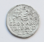 3 гроша 1582г, Стефан Баторий, г Вильно, R, фото №3